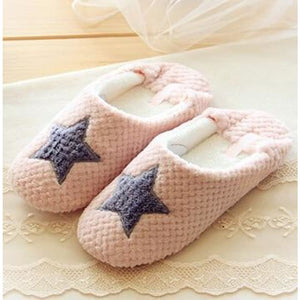 Bright Star Gray Slippers Comfy Clothing Type_Pajamas & Slippers New Trends Season_Fall Slippers Trends 2019