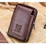 Casual Leather Waist Bag Men Mens Gifts_Leather Bags & Wallets New Trends Trends 2019