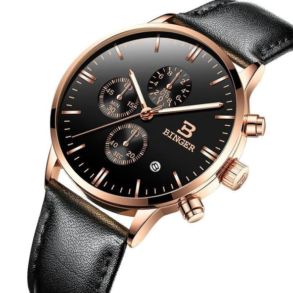 Chronograph 30M Water Resistant Watch Men Mens Gifts_Jewelry & Watches New Trends Trends 2019 Watch