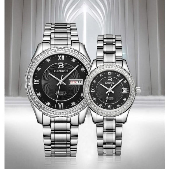 Couple Automatic Mechanical Watch Men Mens Gifts_Jewelry & Watches New Trends Trends 2019 Watch