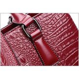 Crocodile Pattern Tote Bags Bag New Trends Shoulderbag Trends 2019