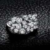 CZ Bubbles Silver Ring Jewelry 2019 Gemstone Jewelry Type_Sterling Silver Rings New Silver Jewelry New Trends