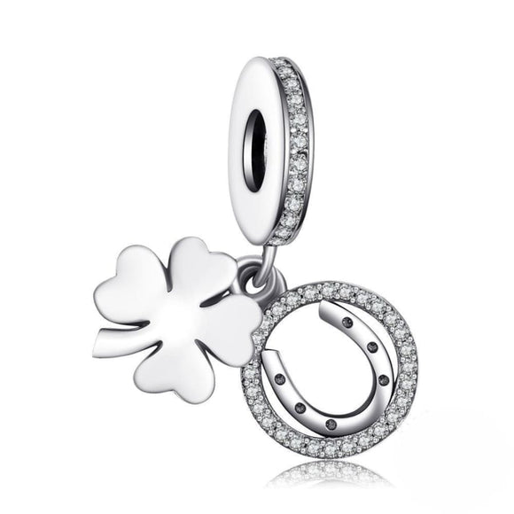 CZ Luck Charm Jewelry 2019 Gemstone Jewelry Type_Charm Bracelet New Silver Jewelry New Trends