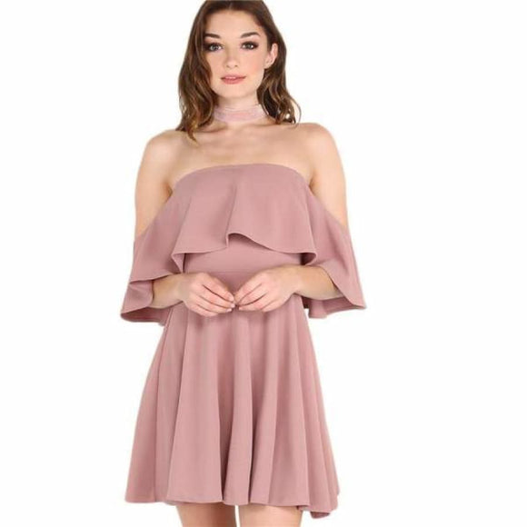 Elisa Cocktail Dress XS / pink Dresses Clothing Type_Dresses New Trends Season_Summer Trends 2019