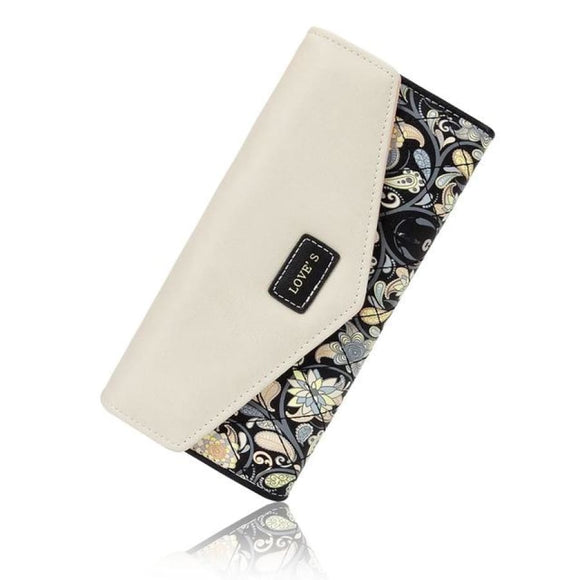Floral Printed Long Wallet Bags New Trends Trends 2019 Wallet/clutch