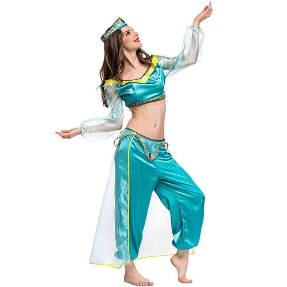 Halloween Princess Jasmine Costume Costume 2019 Clothing Type_Halloween Costumes Costume New Trends Trends 2019