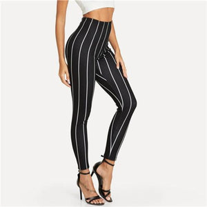 Kimberly Happel Striped Pants Bottoms Clothing Type_Leggings Clothing Type_Pants New Trends Pants Season_Fall