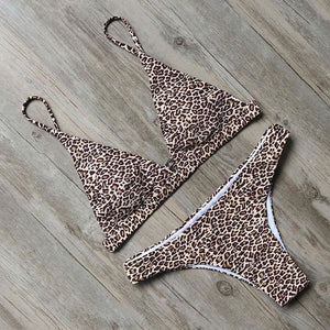 Lakesia Brazilian Bikini Set Pearl Pink / L Swimsuit Bikini Set Clothing Type_Bikini Set New Trends S-2 Season_Summer