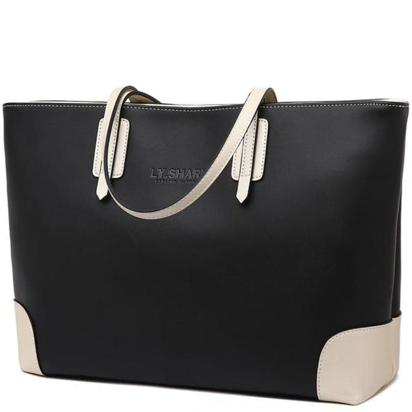 Large Leather Shoulder Bag 1 Bags Bag New Trends Shoulderbag Trends 2019