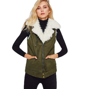 Linda Steiner Zip Up Jacket Army Green / Xs Coats & Jackets Clothing Type_Coats & Jackets Coat/jacket New Trends Season_Fall Trends 2019