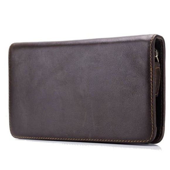 Long Zipped Wallet Men Mens Gifts_Leather Bags & Wallets New Trends Trends 2019