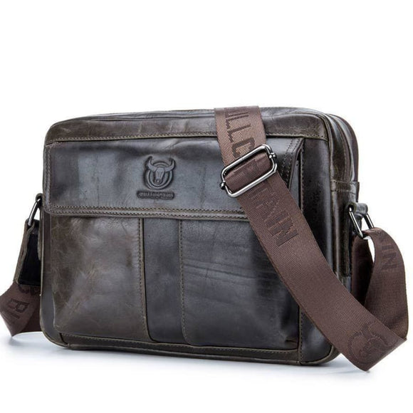 Medium Business Cross Body Deep Green Black Men Bag Mens Gifts_Leather Bags & Wallets New Trends Trends 2019