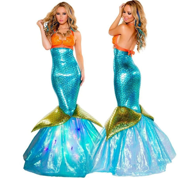 Mermaid costume Costume Clothing Type_Halloween Costumes Costume New Trends Trends 2019