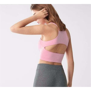 Natalie Pink Sports Bra Fitness Fitness wear Fitness_Sports Bras New Trends Top Trends 2019