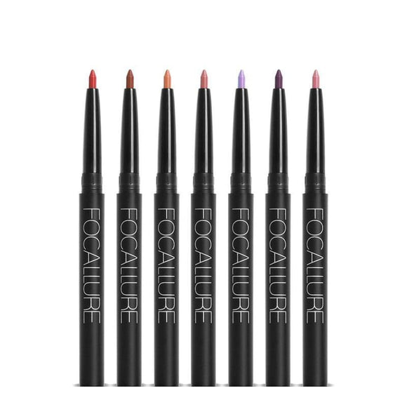 New Pro 19 Colors Lipliner Waterproof Pencil Makeup Long Lasting Makeup Lipstick/lip Gloss/lip Liner Makeup Type_Lipstick/lip-Gloss New