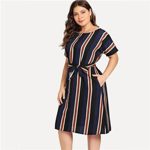 Nirvana Striped Dress Dresses Clothing Type_Dresses Dress Maxi dress New New Trends