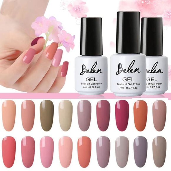 Nude UV Nail Gel Nail Polish Makeup Type_Nails Art Nail Polish New New Trends Trends 2019