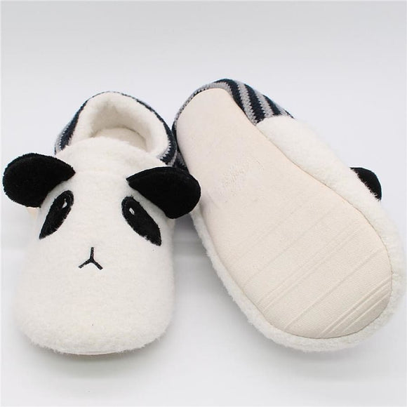Panda Flats Slippers Comfy Clothing Type_Pajamas & Slippers New Trends Season_Fall Slippers Trends 2019