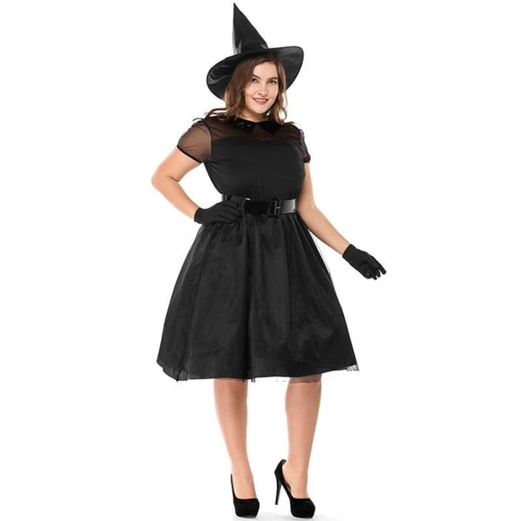 Plus Size Black Witch Costume L Costume Clothing Type_Halloween Costumes Costume New Trends Plus Size Trends 2019