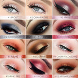 Pro 12 Colors Eyes Makeup Liner Eyeshadow Pencil Sticker Easy To Wear Long Lasting Shimmer Makeup Eyes Makeup Makeup Type_Eyes Makeup New