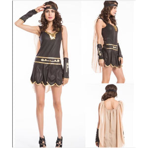 Purim carnival ancient roman greek female soldier warrior women costume Costume 2019 Clothing Type_Halloween Costumes Costume New Trends