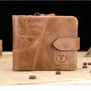 Retro Leather Wallet Men Mens Gifts_Leather Bags & Wallets New Trends Trends 2019