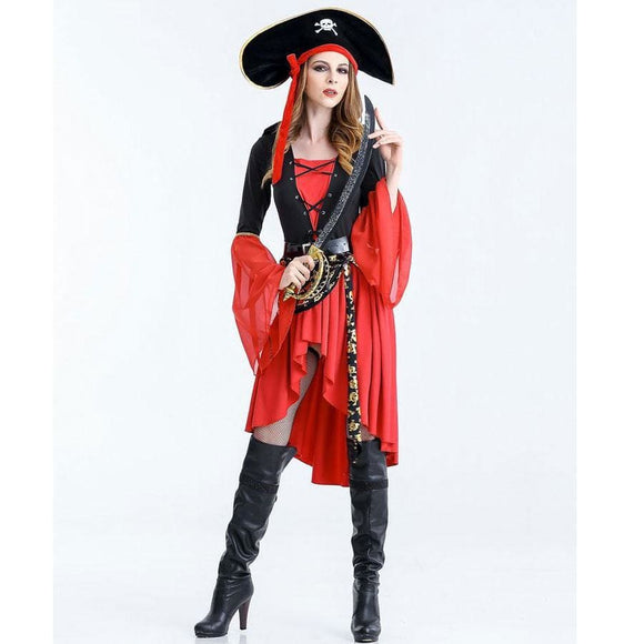 Rogue Maiden Pirate Costume Costume 2019 Clothing Type_Halloween Costumes Costume New Trends Trends 2019