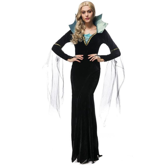 Royal Vampire Dress Costume 2019 Clothing Type_Halloween Costumes Costume New Trends Trends 2019