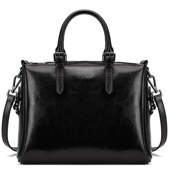 Satchel Leather Bag black Bags Bag New Trends Shoulderbag Trends 2019