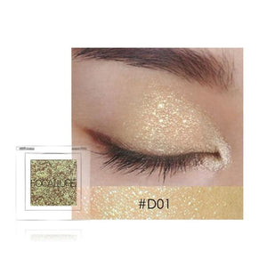 Satin Eyeshadow d4 Makeup Eye Shadow Eyes Makeup Glitter Long Lasting Makeup Type_Eyes Makeup