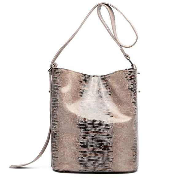 Serpentine Soft Bucket Bag Color 1 / (30Cm<Max Length<50Cm) Bags Bag New Trends Shoulderbag Trends 2019