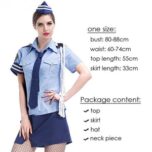 Sexy Uniform Costume Costume 2019 Clothing Type_Halloween Costumes Costume New Trends Trends 2019