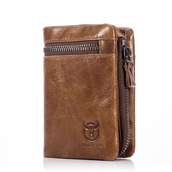Short Design Vintage Wallet Brown Men Mens Gifts_Leather Bags & Wallets New Trends Trends 2019