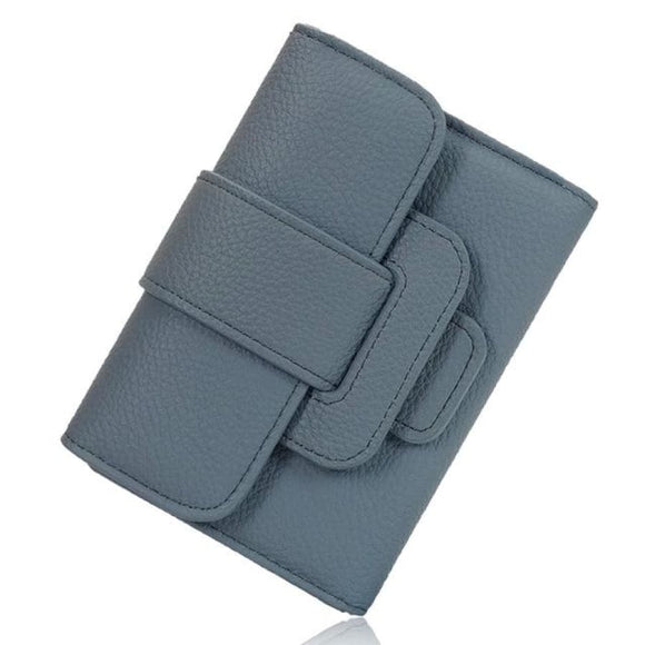 Short PU Trifold Wallet blue Bags New Trends Trends 2019 Wallet/Clutch