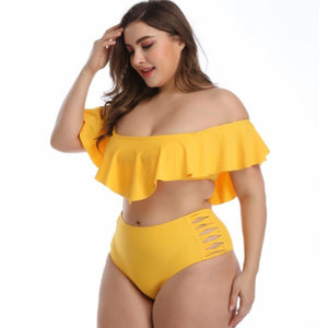 Siera Ruffle Bikini Set Swimsuit Bikinis Clothing Type_Bikini Set New Trends Season_Summer Trends 2019