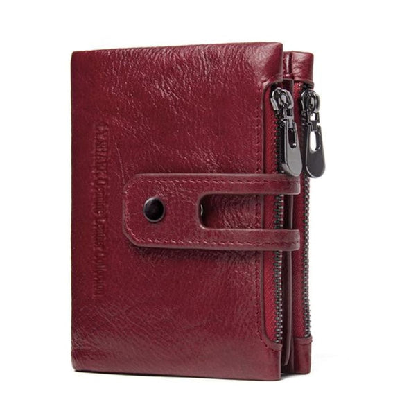 Small Red Leather Wallet Red Bags New Trends Trends 2019 Wallet/Clutch