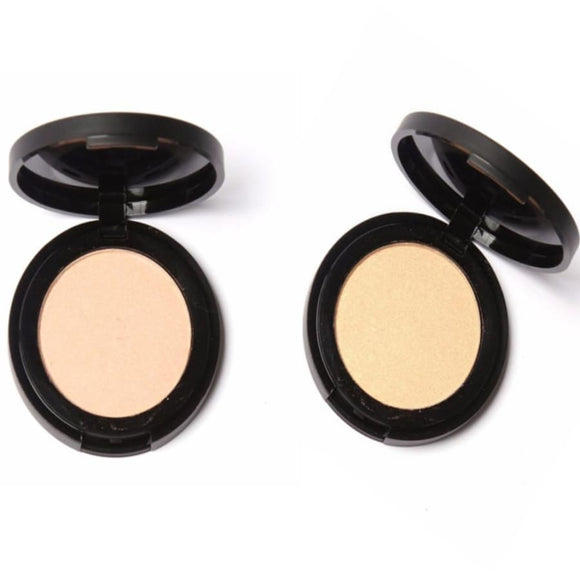 Soft Pressed Makeup Highlighter Powder Long Lasting Professional For Eye Face Makeup Base Makeup Highlighter/shimmer/blusher Makeup