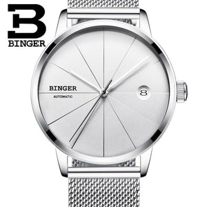 Stainless Steel Mesh Band Wristwatch Men Mens Gifts_Jewelry & Watches New Trends Trends 2019 Watch