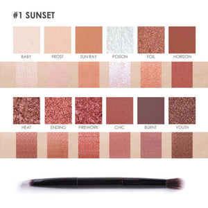 Sunset Eye Shadow Palette Makeup Eye Shadow Eyes Makeup Makeup Makeup Type_Eyes Makeup New Trends