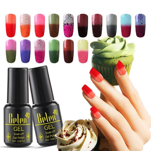 UV Gel Changing Colors Nail Polish 2019 Makeup Type_Nails Art Nail Polish New Trends Trends 2019
