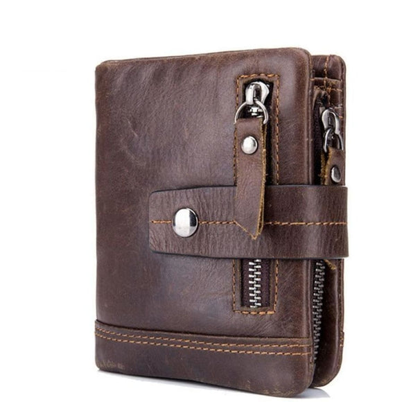 Vintage Leather Wallet Men Mens Gifts_Leather Bags & Wallets New Trends Trends 2019