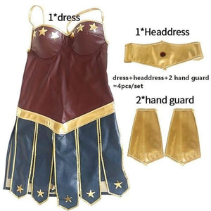 Wonder Woman Cosplay Costume Costume Clothing Type_Halloween Costumes Costume New Trends Trends 2019