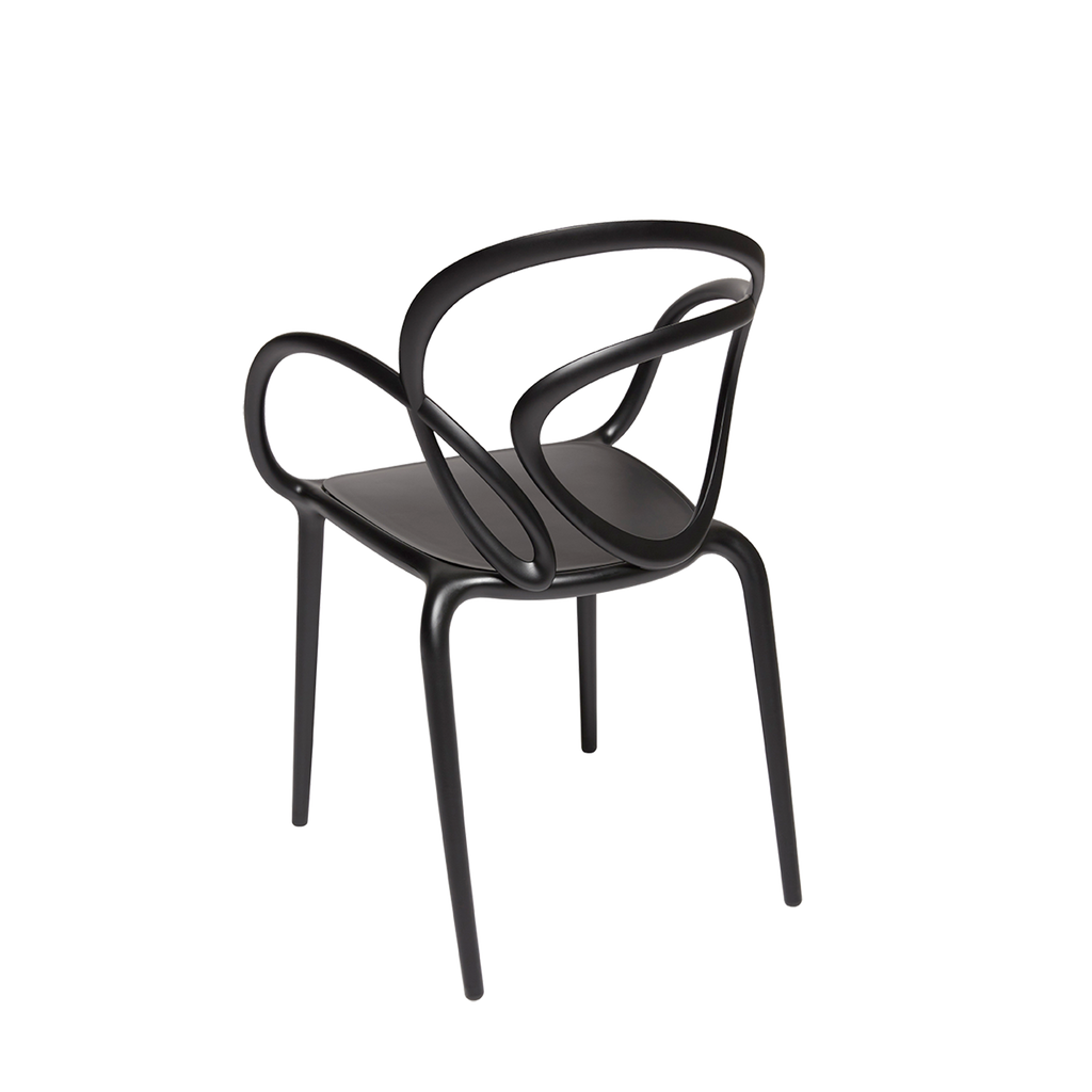 Loop Chair Without Cushion / Set of 2 pieces