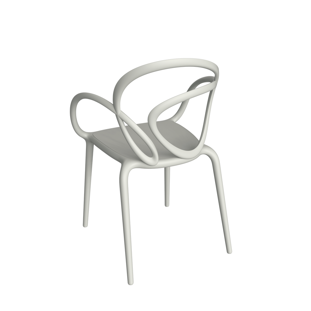 Loop Chair Without Cushion - Set of 2 pieces