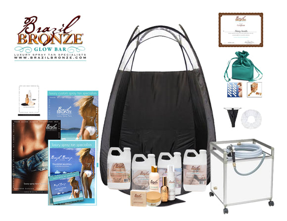 Pkg. #5 Spray Tan Pro with Certification