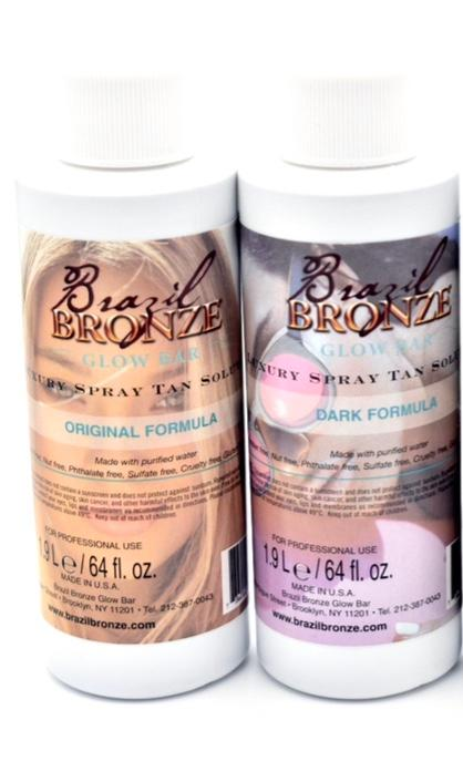Original and Dark Sample Spray Tan Solutions