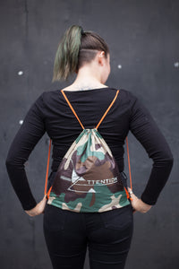 Mini drawstring backpack