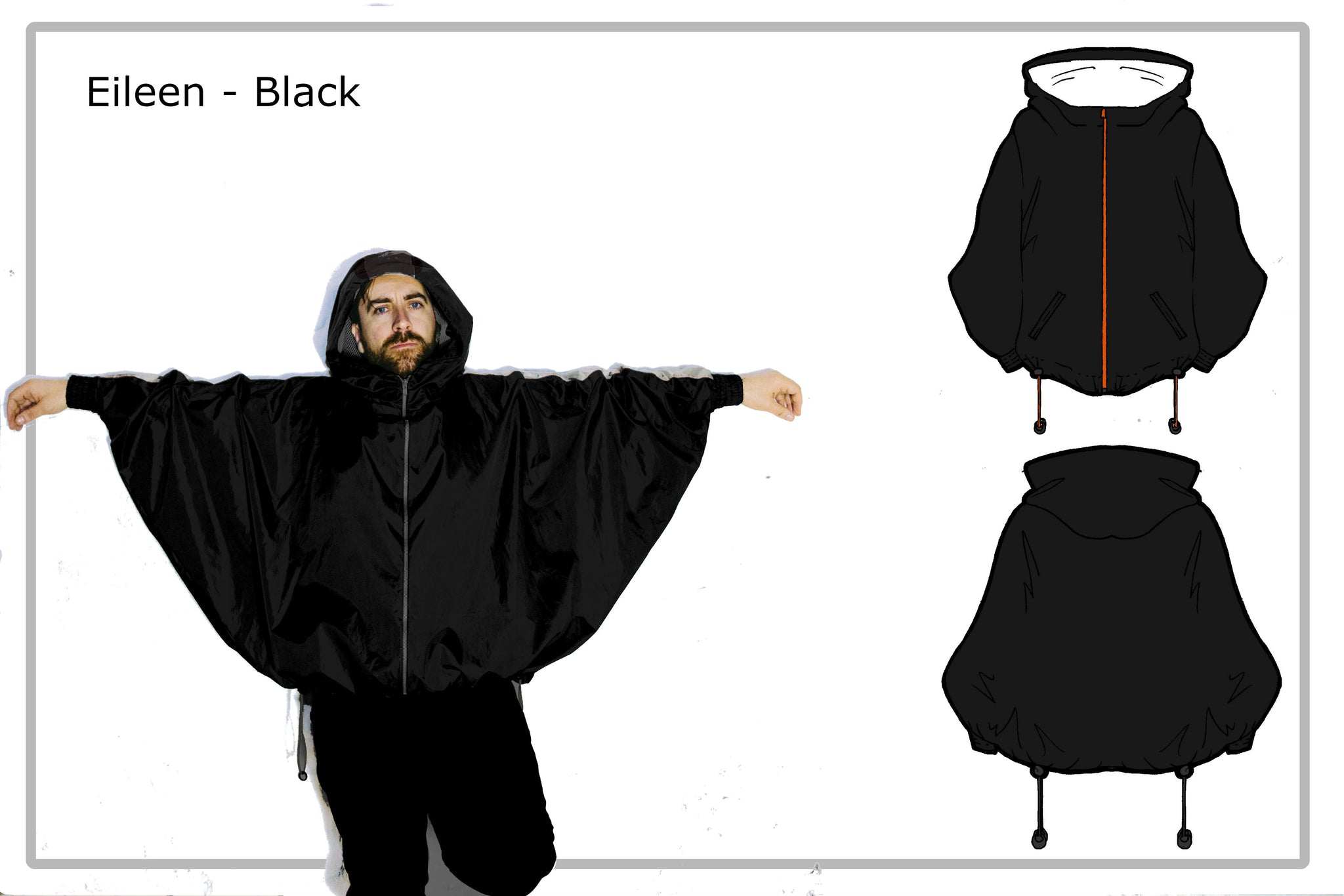 The Eileen - Showerproof Batwing Jacket