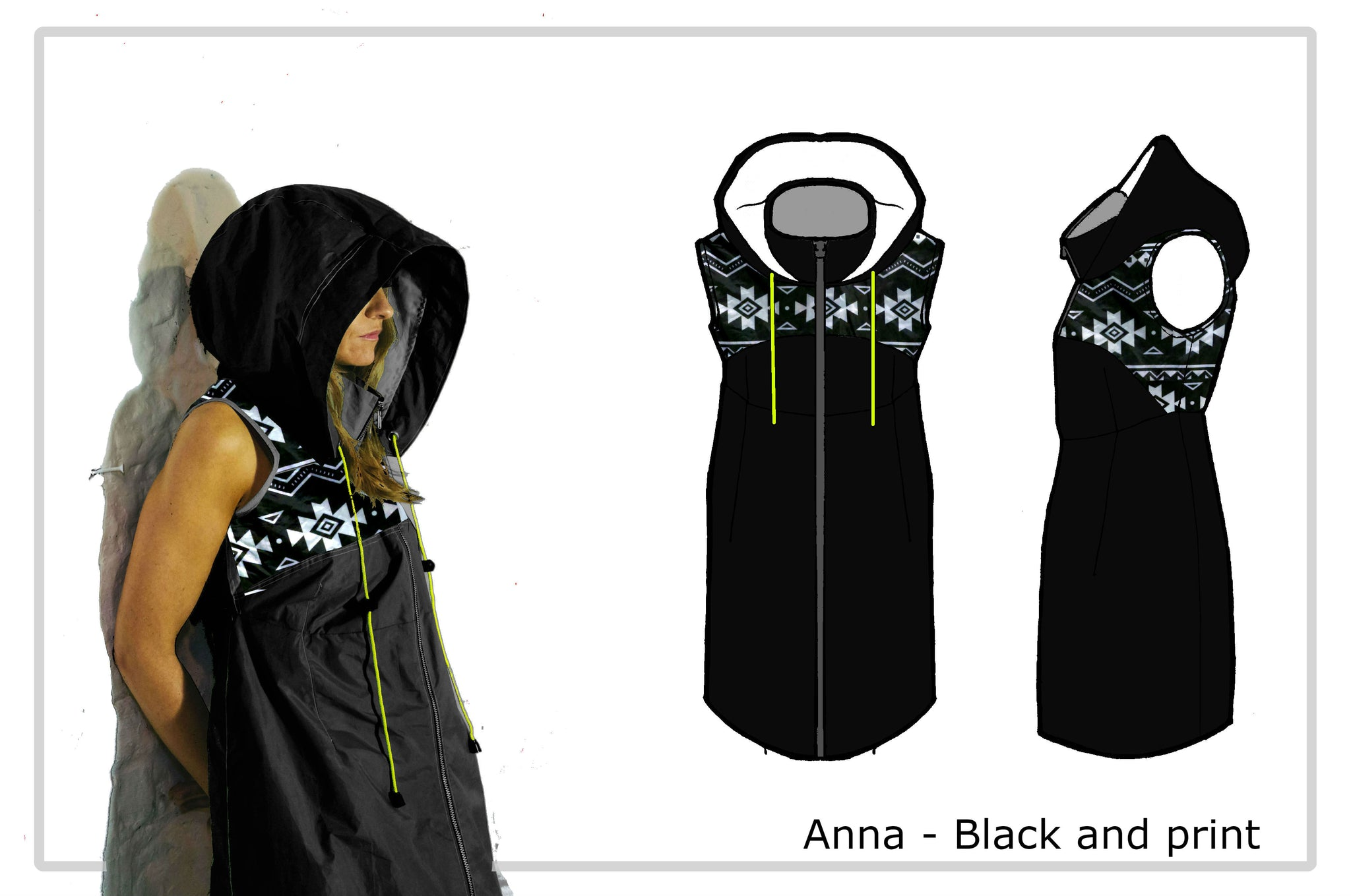 The Anna - Showerproof Zip-thru Dress