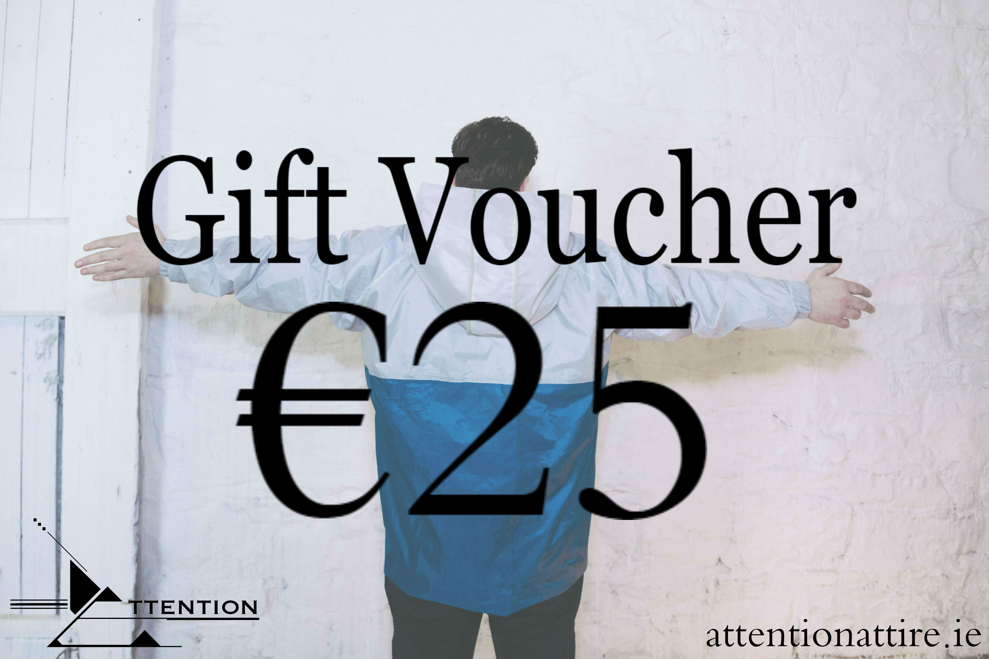 Attention Attire Gift Voucher